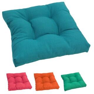 Blazing Needles 19-inch Outdoor Spun Poly Chair/ Rocker Cushion