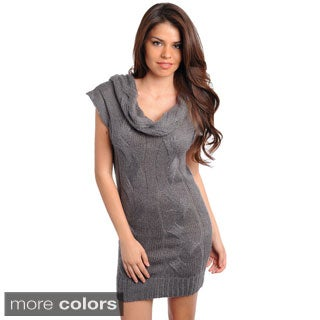 Stanzino Women's Cowl Neck Tunic Dress