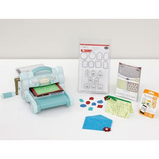 Sizzix Big Shot Teal Die Cutting Machine 24-piece Mega Kit with Talking Tags