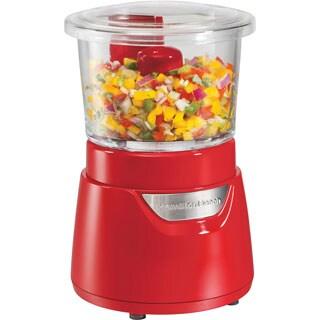 Hamilton Beach Red 3-cup Glass Bowl Food Chopper