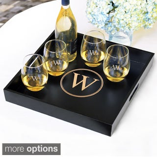 Personalized Wooden Serving Tray