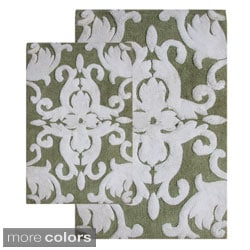 Iron Gate Cotton Bath Rugs (Set of 2)