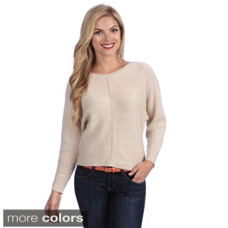 Ply Cashmere Women's Knit Cuff Sweater