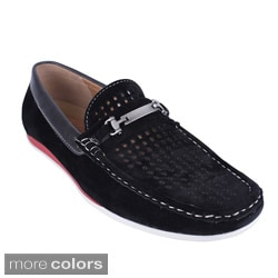 J's Awake Men's 'Frank-39' Perforated Loafer Shoes