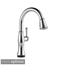 Delta Cassidy Single Handle Pull-Down Kitchen Faucet with Touch2O Technology