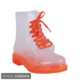 French Kiss Tiffany Women's Waterproof Ankle High Boots