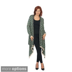 BCI-4231 Women's Diamond Print Cardigan