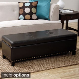 Warehouse of Tiffany Nail Design Storage Ottoman Bench