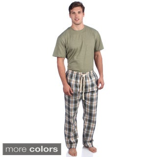 Majestic Men's 3-piece Cotton Lounge Set