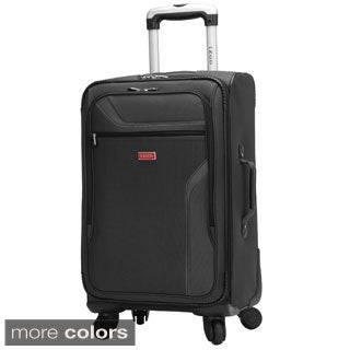 IZOD Journey 3.0 24-inch 4-wheel Expandable Spinner Upright Suitcase