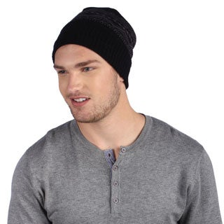 Muk Luks Men's Fleece Lined Cuff Cap