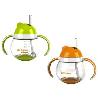 Lasinoh Straw Cup with Dual Handles