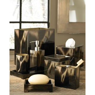 Faux Horn Contemporary Bath Accessory Collection