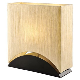 Artiva USA 'Sakura'17-inch Black Lacquer Wood Premium Paper Shade Table Lamp