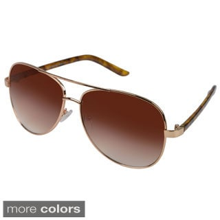 Vance Men's Metal Aviator Sunglasses
