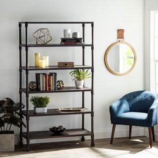 Renate Bookcase Coffee Finish