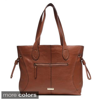 Franco Sarto 'Lafayette' Large Leather Tote Bag