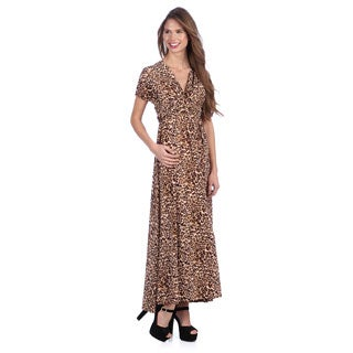 Tabeez Women's Multi Way Animal Print Dress
