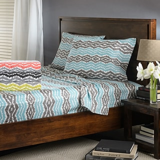 Strada Ikat Sateen All Cotton Sheet Set