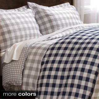 Harvard 300 Thread Count 3-piece Print Duvet Cover Set