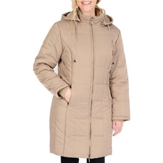 Excelled Women's Stitch Puffer Jacket