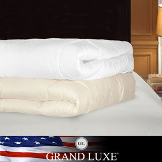 Grand Luxe 1200 Thread Count Egyptian Cotton Down Alternative Comforter