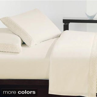 Ultra Soft Lace Assorted Colors Sheet Set