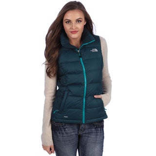 The North Face Women's Kodiak Blue Nuptse 2 Vest