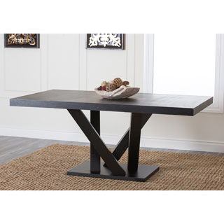 Abbyson Living Espresso Wood Dining Table