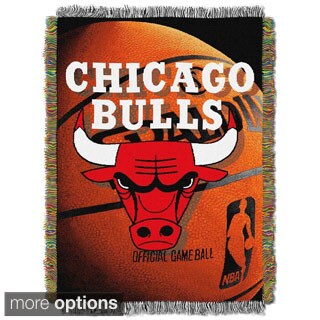 NBA Photo Real Woven Tapestry Throw (Multi Team Options)