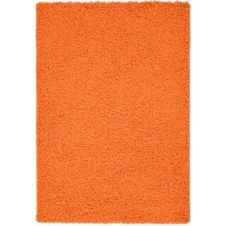 Machine-woven Orange Area Rug (5' x 7')