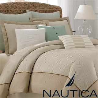 Nautica Eden Glen Oversized Comforter with Optional Sham Separates