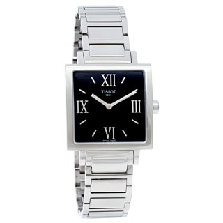 Tissot Women's 'T-Trend' Stainless Steel White Dial Watch