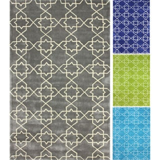 nuLOOM Handmade Marrakesh Lattice Trellis Rug (7'6 x 9'6)