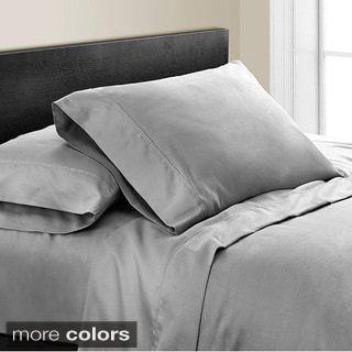 Noelia 600 Thread Count 4-piece Sheet Set