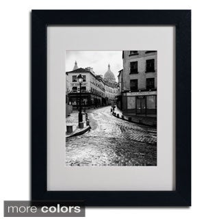 Chris Bliss 'Montmartre' Framed Matted Art