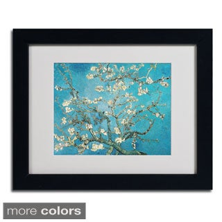 Vincent van Gogh 'Almond Branches' Framed Matted Art