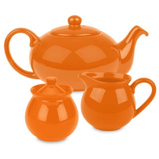 Waechtersbach Orange Tea Set