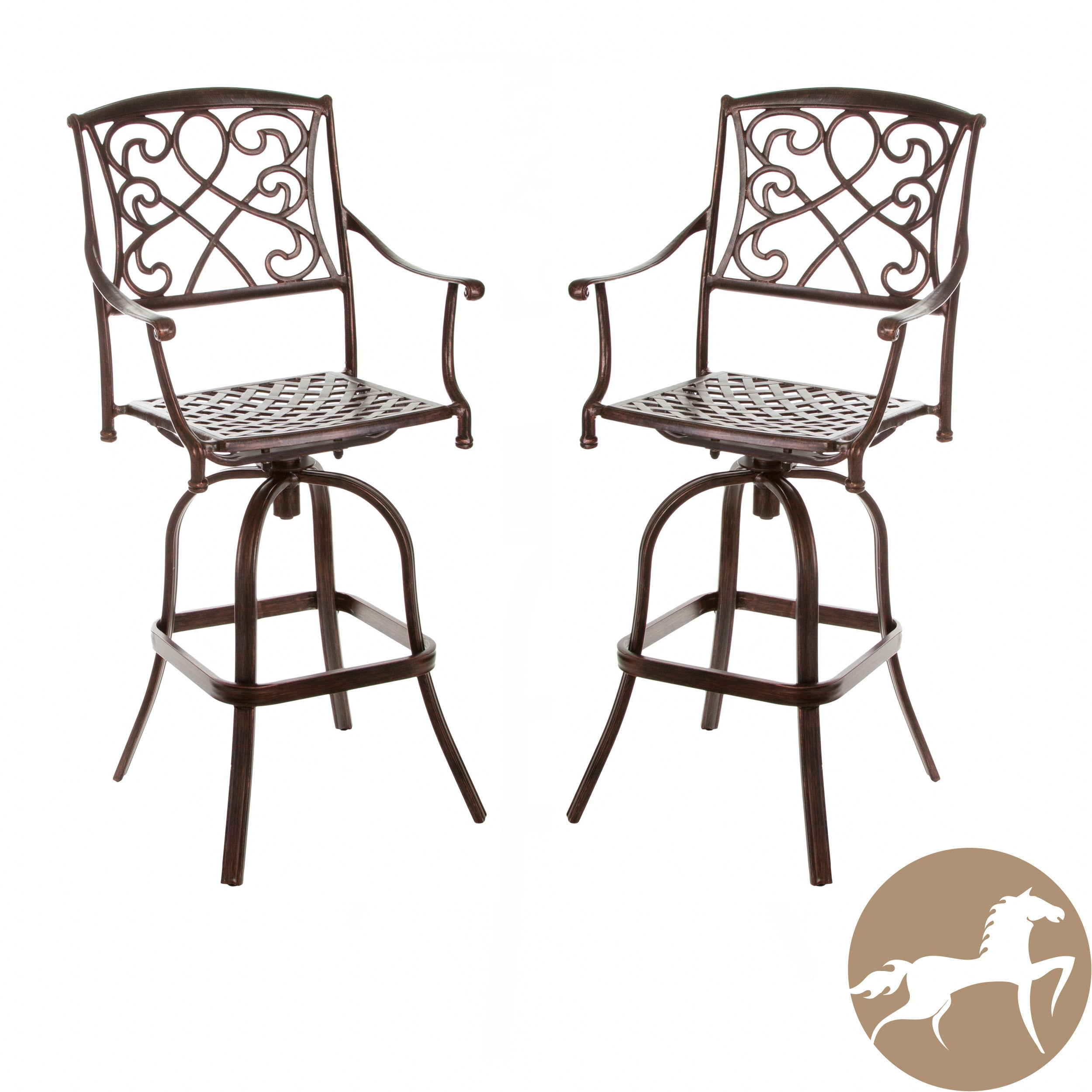 Christopher Knight Home Sahara Outdoor Bar Stools