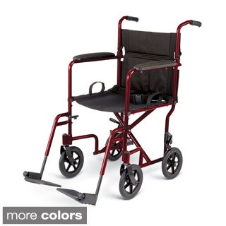 Medline Aluminum Transport Chair