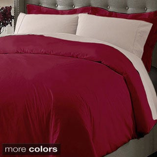 Oversize Cotton 3-piece Duvet Cover Set