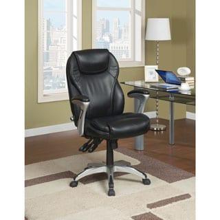 Serta Ergo Executive Black Office Chair