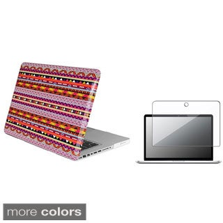 INSTEN Tribal Laptop Case Cover/ Screen Protector for Apple MacBook Pro 13.3-inch