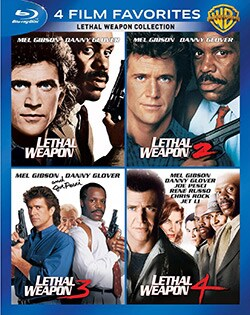 4 Film Favorites: Lethal Weapon (Blu-ray Disc)