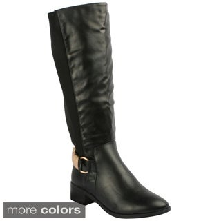 Refresh Women's 'Alto-02' Knee-high Riding Boots