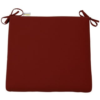 Jockey Red Sunbrella Cushion