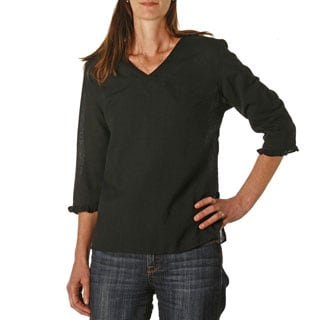 Women's V-Neck Top