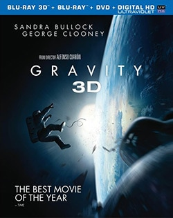 Gravity 3D (Blu-ray/DVD)