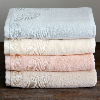 Lenox Sea Side Cotton Terry Bath Towels (Set of 3)