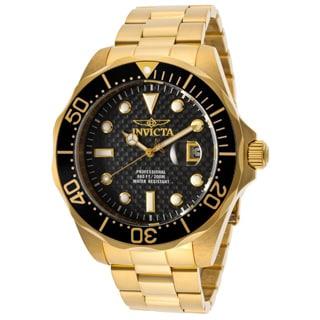 Invicta Men's 14356 Black Gold Pro Diver Watch